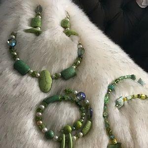 Zambian Emerald BUNDLE Set// BBEZ